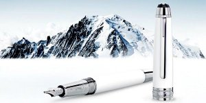 Stylo plume tribute to the Mont Blanc MontBlanc